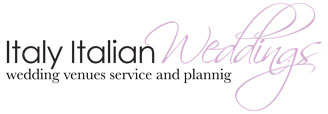 Italy Italian Weddings. Logo