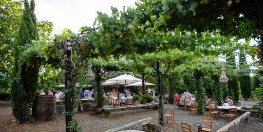 wedding in a winery near rome