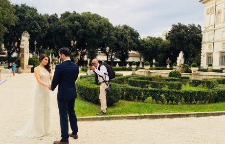 wedding-villa-borghese,-in-rome