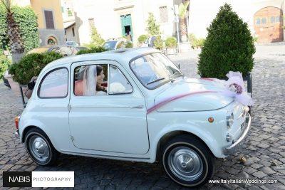 wedding-car-rome