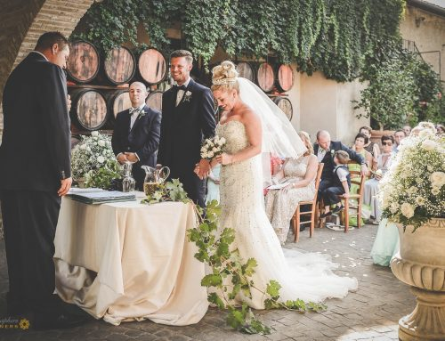Chic Winery Wedding near Rome  at Cantine Santa Benedetta