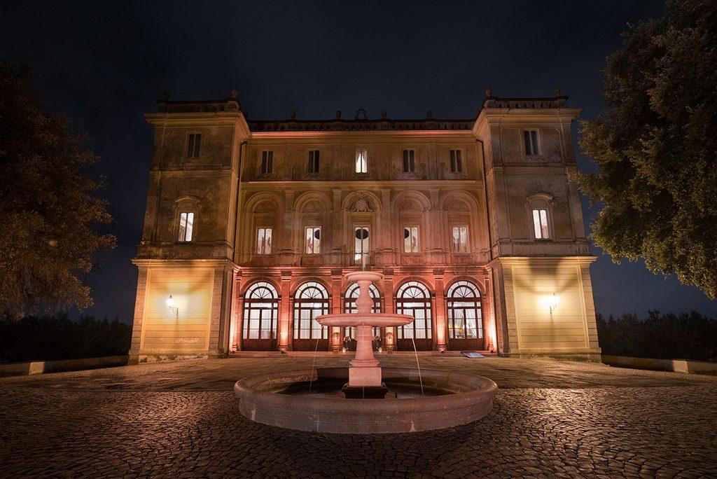 uplighting villa grazioli